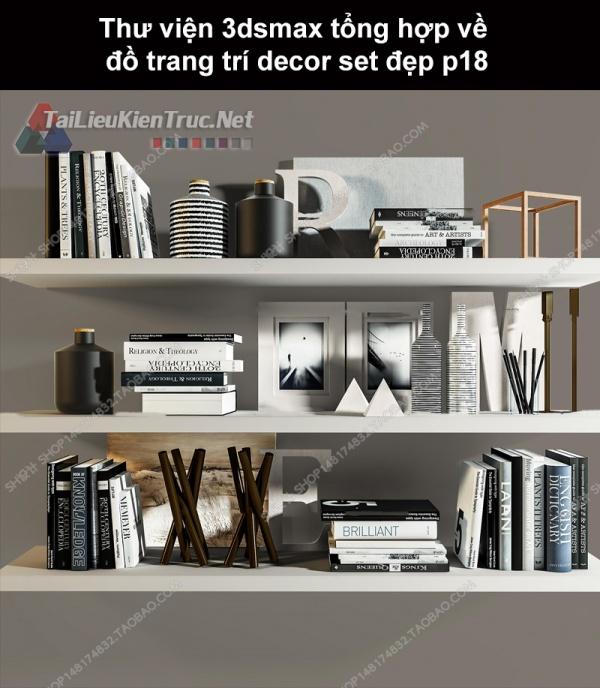 Thư viện 3dsMax tổng hợp về đồ trang trí decor set đẹp p18