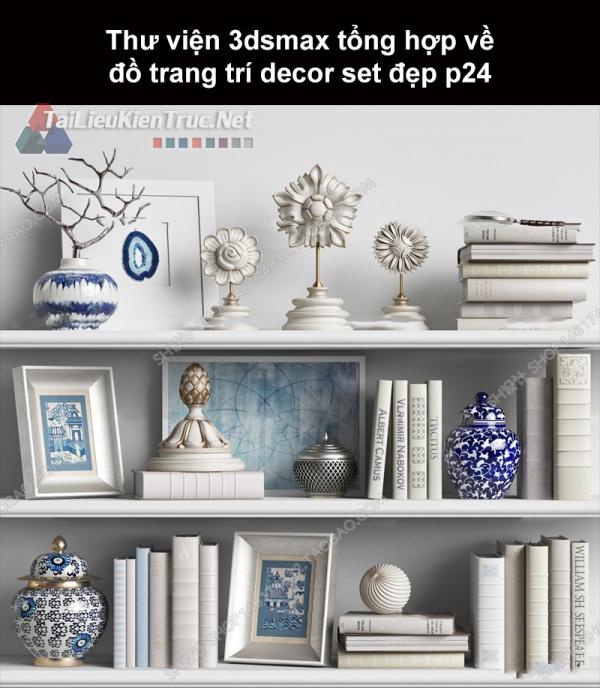 Thư viện 3dsMax tổng hợp về đồ trang trí decor set đẹp p24