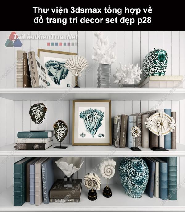 Thư viện 3dsMax tổng hợp về đồ trang trí decor set đẹp p28