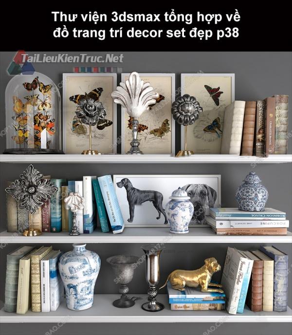 Thư viện 3dsMax tổng hợp về đồ trang trí decor set đẹp p38