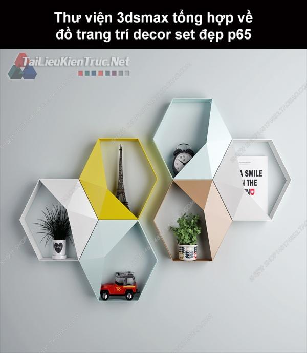 Thư viện 3dsMax tổng hợp về đồ trang trí decor set đẹp p65