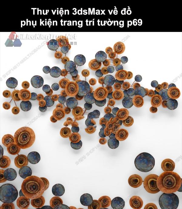 Thư viện 3dsMax về đồ phụ kiện trang trí tường p69