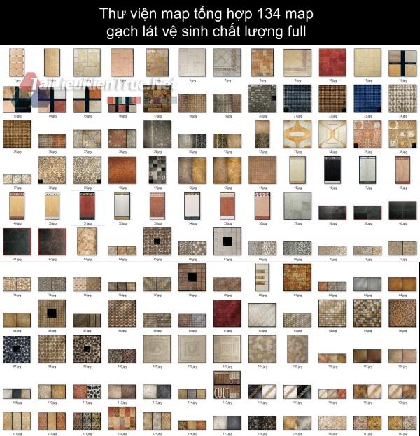 Thư viện map tổng hợp 134 map gạch lát vệ sinh chất lượng full