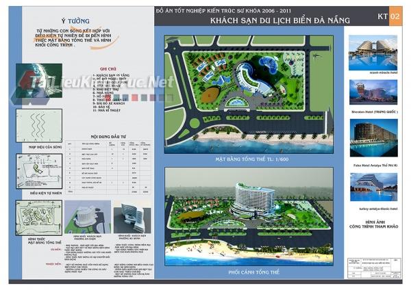 Đồ án tốt nghiệp KTS - Khách sạn du lịch biển Đà Nẵng