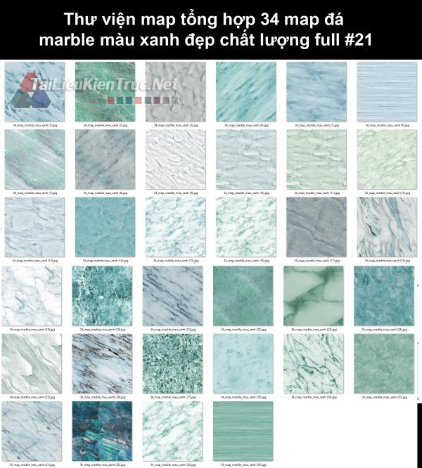 Thư viện map tổng hợp 34 map đá marble màu xanh đẹp chất lượng full #21