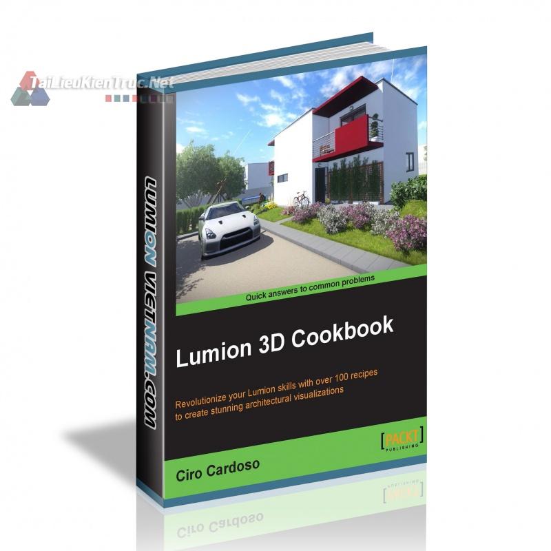 Giáo trình dạy nấu ăn 3D Lumion của Ciro Cardoso