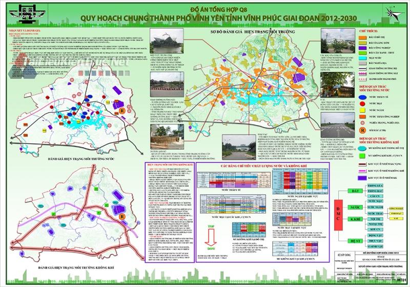Đồ án tốt nghiệp - Quy hoạch chung Thành Phố Vĩnh Yên - Vĩnh Phúc Giai Đoạn 2012 - 2030