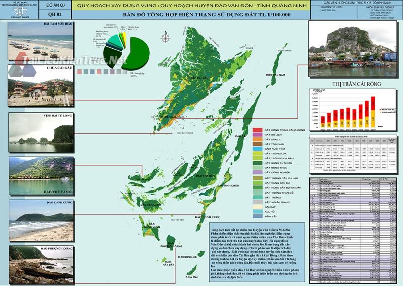 Đồ án tốt nghiệp - Quy hoạch Huyện Đảo Vân Đồn Tỉnh Quảng Ninh