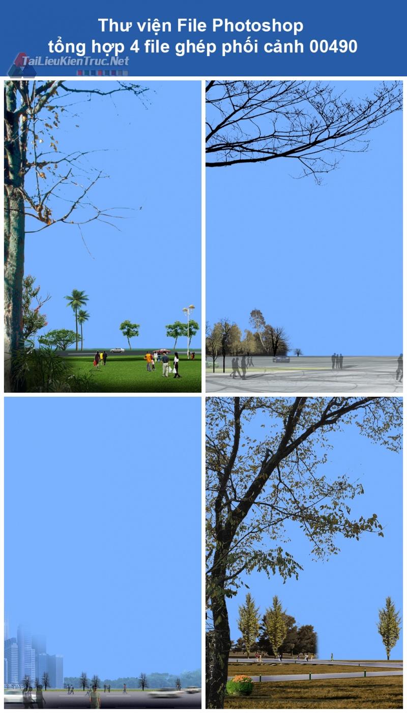 Thư viện File Photoshop tổng hợp ghép phối cảnh 00490