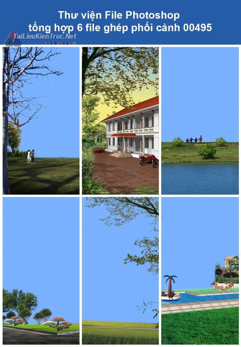 Thư viện File Photoshop tổng hợp ghép phối cảnh 00495
