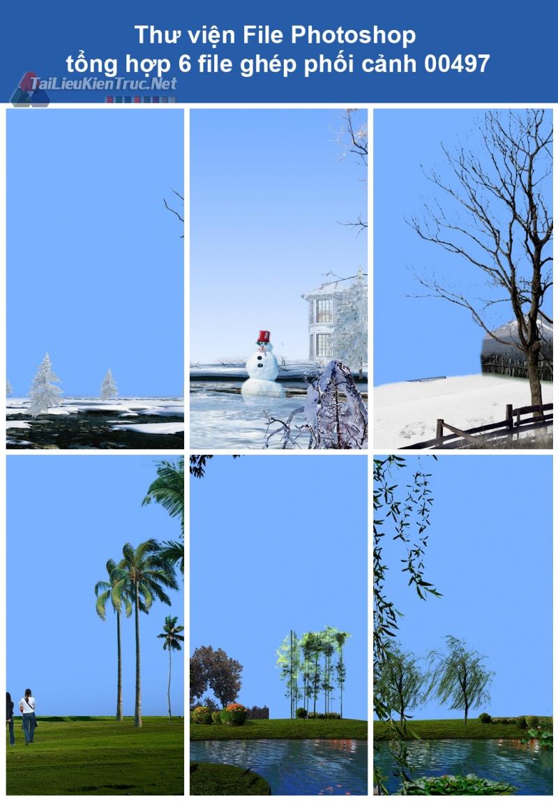 Thư viện File Photoshop tổng hợp ghép phối cảnh 00497