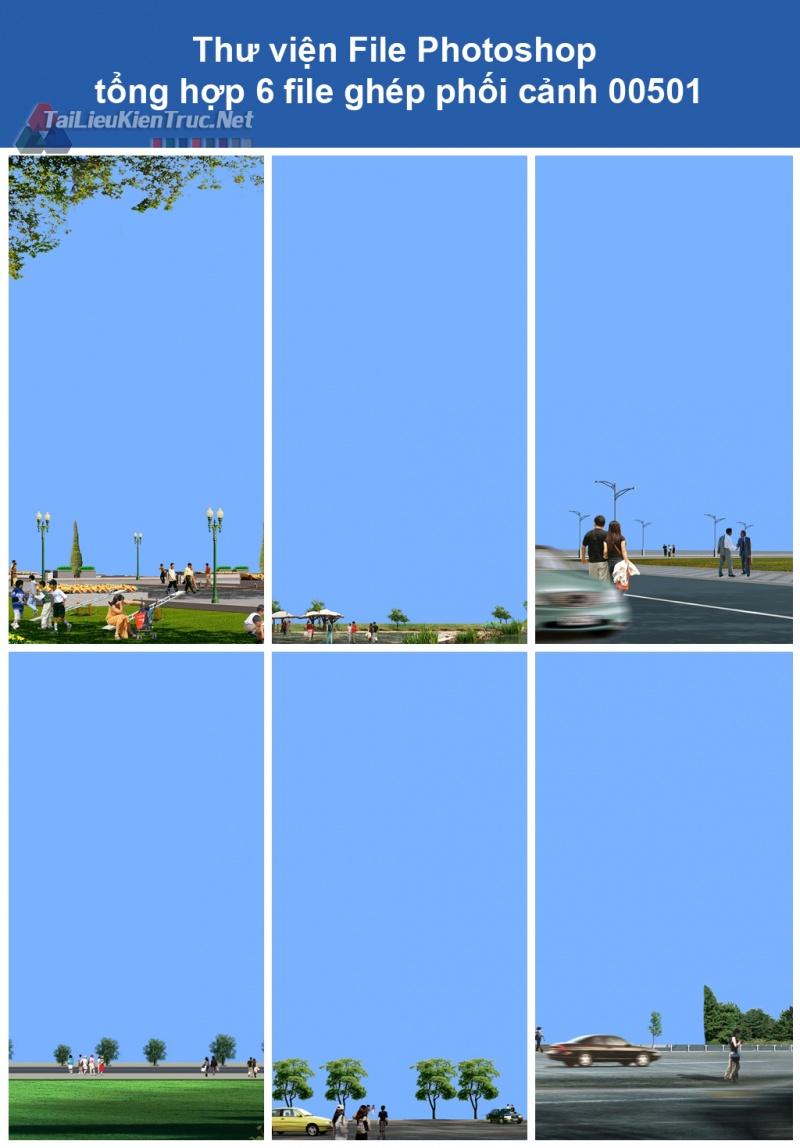 Thư viện File Photoshop tổng hợp ghép phối cảnh 00501