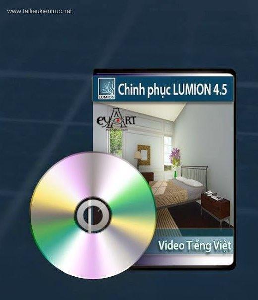 DVD dạy LUMION Tiếng Việt