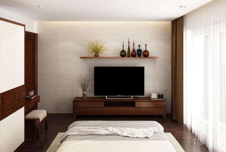 Phối cảnh phòng ngủ phong cách Hiện đại đẹp full file Max 00076