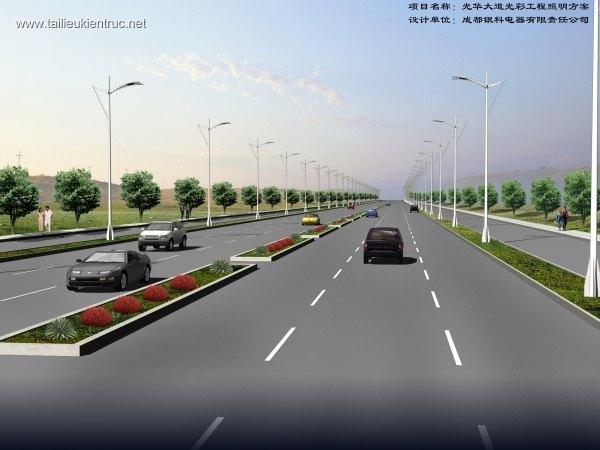 Phối cảnh đường cao tốc L048