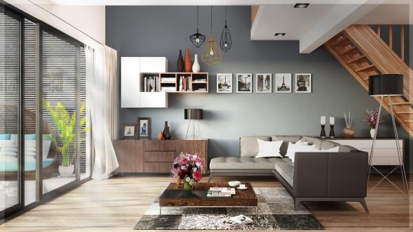 Phối cảnh nội thất 3D Max Nội thất phong cách hiện đại 00096
