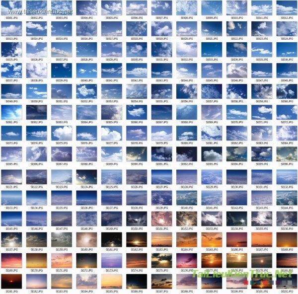 Tổng hợp 200 File Ảnh bầu trời dùng để ghép phối cảnh