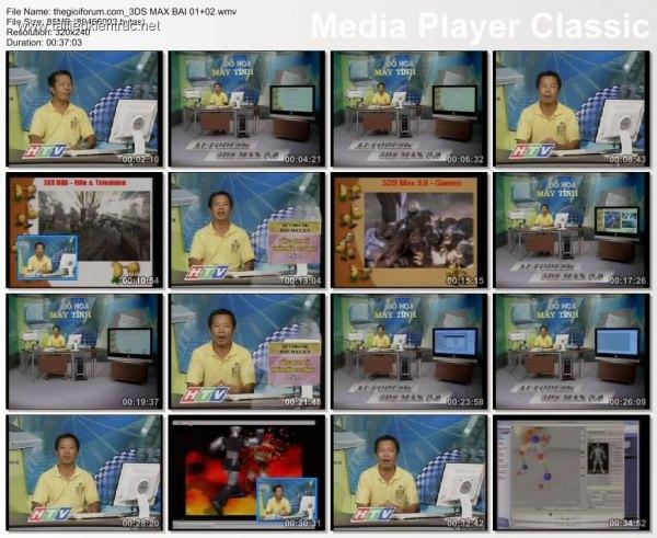 DVD Hướng dẫn 3DS Max Cơ bản tiếng Việt