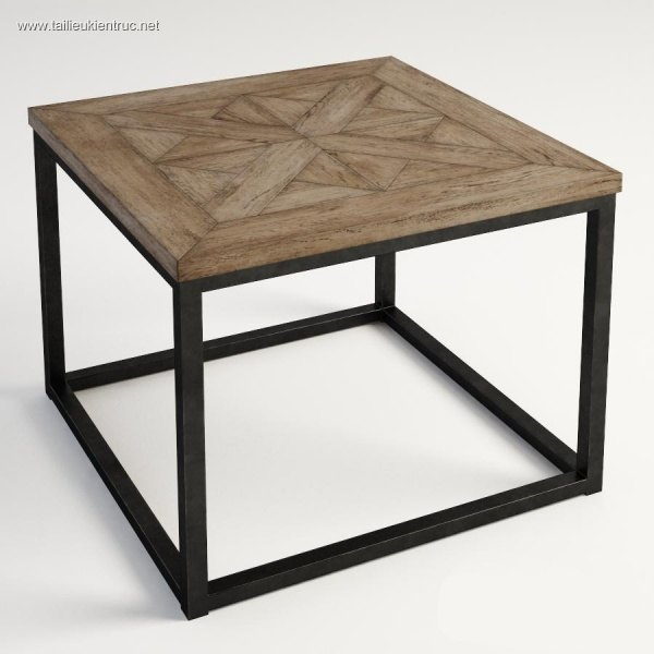 3d model Burton side table 00002