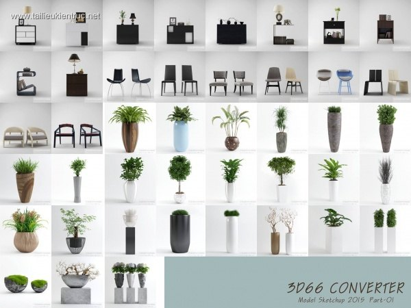 3D66 Collection Sketchup 2015 - P1 Download