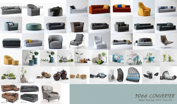 3D66 Collection Sketchup 2015 - P2 Download