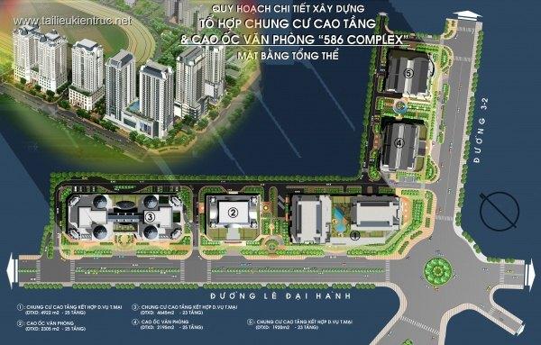 Tổ hợp nhà ở cao tầng và Cao ốc văn phòng kết hợp Thương mại dịch vụ Complex