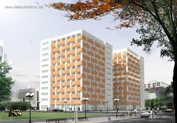 Hồ sơ thiết kế công trình SAIGON INTELLIGENCE OFFICE BUILDING