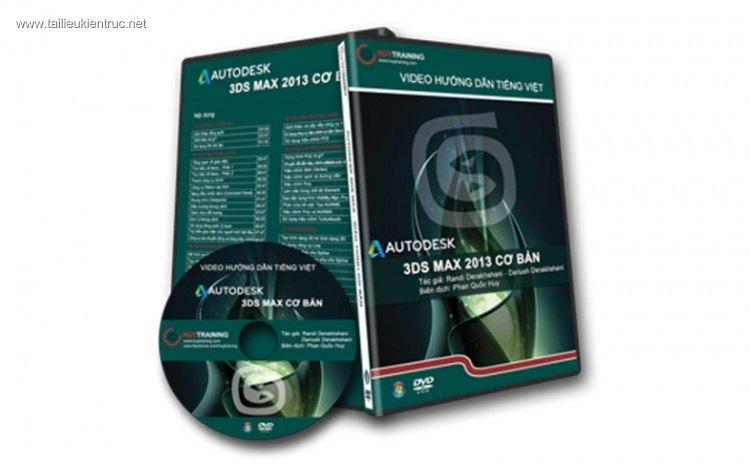 DVD hướng dẫn 3ds max 2013 cơ bản của Huytraining