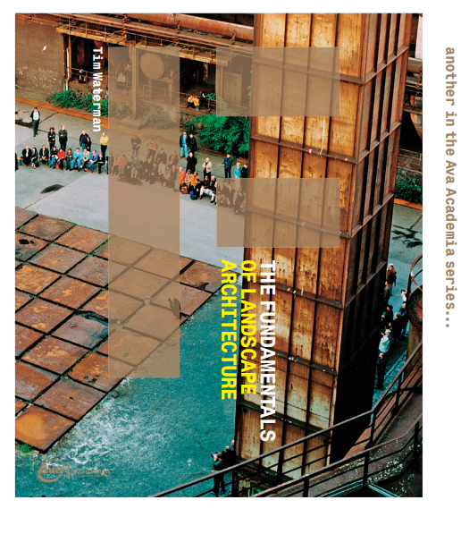 Sách kiến trúc cảnh quan cơ bản The Fundamentals of Landscape Architecture