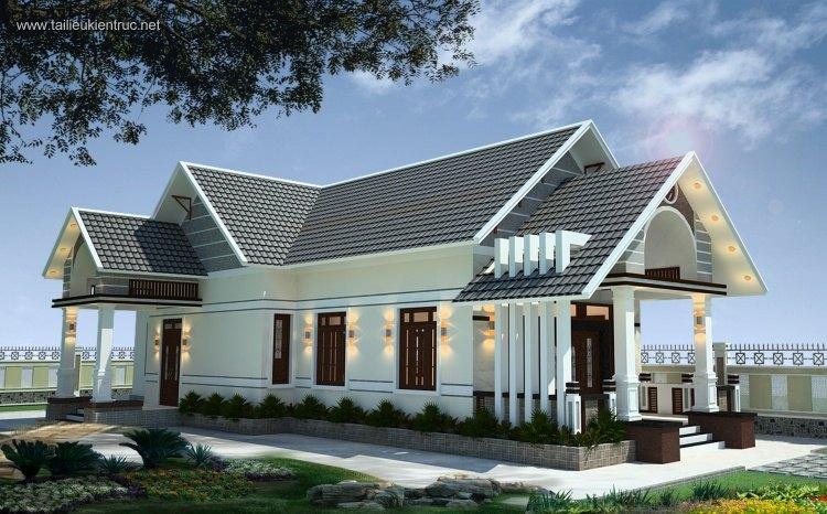 Hồ sơ thiết kế nhà 1 tầng 12x26m full kiến trúc 021