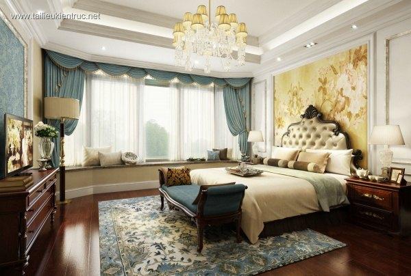 Phối cảnh phòng ngủ master full 3ds max 00021