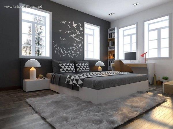 Sence Phòng Ngủ trẻ con 00004 - Thiết kế nội thất phong cách hiện đại