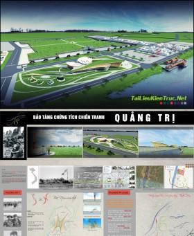 Đồ án tốt nghiệp kiến trúc - Bảo tàng chứng tích chiến tranh Quảng trị