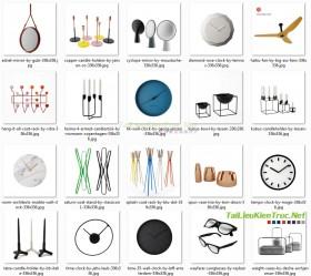 Tổng hợp 3d model 20 mẫu vật trang trí trong nội thất 001