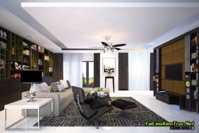 Sence Phòng khách 00001 - Nội thất chung cư Royal City