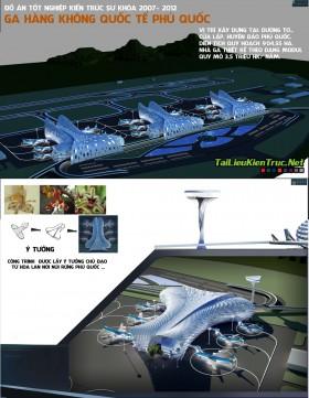 Đồ án kiến trúc - Ga hàng không Quốc tế Phú quốc