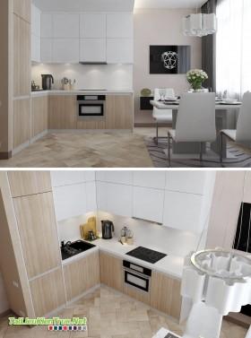 Sence Phòng bếp + ăn 0001