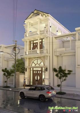Sence House 00001 - Nhà phố Tân cổ điển