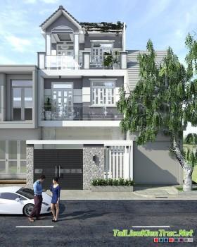 Sence House 00001 - Nhà phố Hiện đại