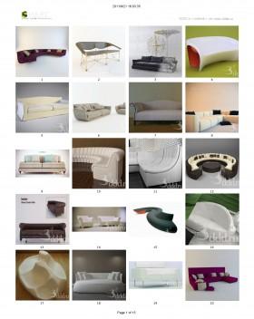 Tổng hợp 100 File 3D model Sofa cực đẹp P1