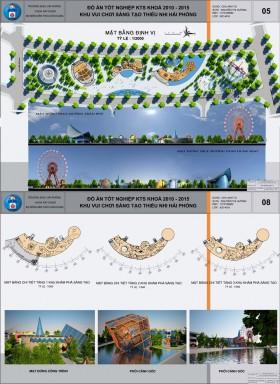 Đồ án kiến trúc - Khu vui chơi thiếu nhi sáng tạo Hải Phòng