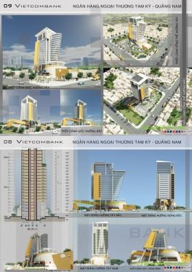Đồ án tốt nghiệp kiến trúc - Ngân hàng Ngoại thương Tam kỳ - Quảng Nam