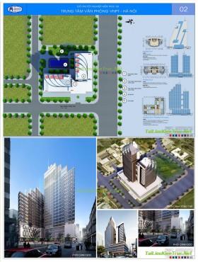 Đồ án kiến trúc - Tổ hợp Trung tâm Văn phòng VNPT - Hà Nội