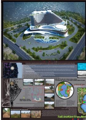 Đồ án tốt nghiệp kiến trúc - Khách sạn hội nghị du lịch Biển Hồ - Gia Lai