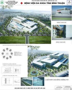Đồ án tốt nghiệp kiến trúc - Bệnh viện Đa khoa Tỉnh Bình Thuận