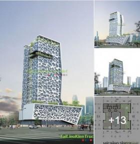 Đồ án kiến trúc - Trung tâm thương mại và văn phòng Pico - Hà Nội