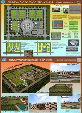 Đồ án tốt nghiệp kiến trúc - Trung tâm đào tạo Bóng đá Trẻ Hải Phòng