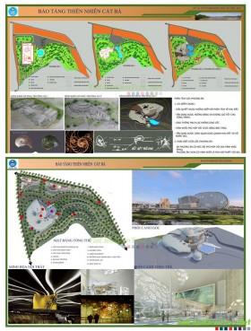 Đồ án tốt nghiệp kiến trúc - Bảo tàng Thiên Nhiên Cát Bà