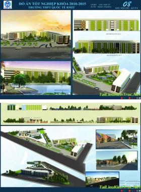 Đồ án tốt nghiệp kiến trúc - Trường THPT quốc tế RMIT