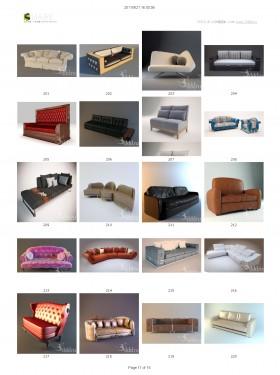 Tổng hợp 100 File 3D model Sofa cực đẹp P3